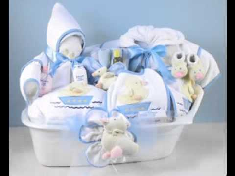 Diy Baby Shower Gift Basket Decor Ideas Youtube