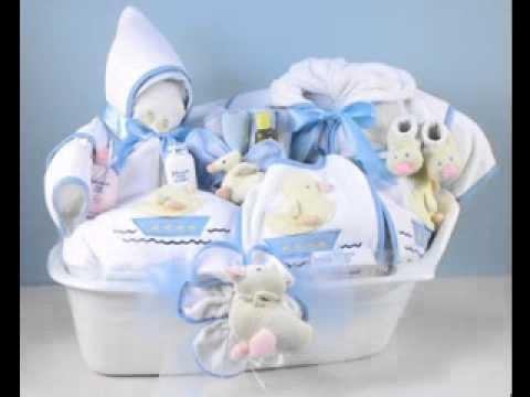 DIY Baby shower gift basket decor ideas - YouTube