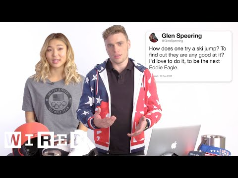 U.S. Olympic Athletes Answer Olympics Questions From Twitter | Tech Support | WIRED