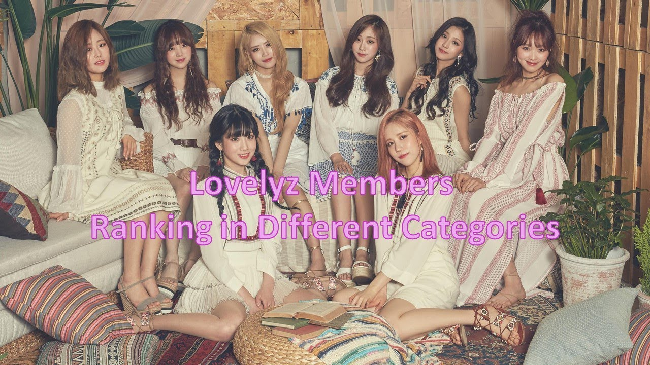 Lovelyz Member Rankings In Different Categories Youtube Our list of lovelyz members includes names, pictures, birthdays, and positions (leader, rapper, vocals, dancer, visual, face of the group, and the maknae.). lovelyz member rankings in different categories