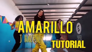 tutorial de baile - Amarillo J Balvin / academia energy dancers