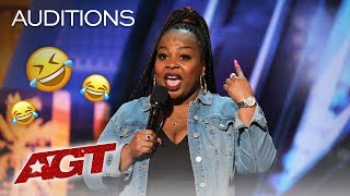 LOL! Jackie Fabulous Will Make You Laugh Until You Cry! - America's Got Talent 2019