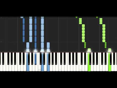 Ahrix - Left Behind - PIANO TUTORIAL