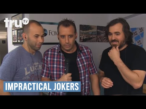 Impractical Jokers - Bingo Legend Removed By Security (Punishment) | truTV