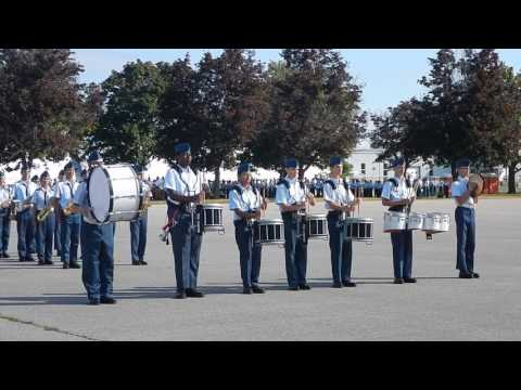Trenton Cadet Training Centre Wing Band Routine - Summer 2016