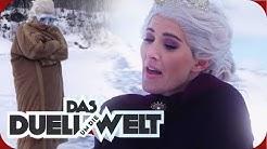 NORWEGEN: Jeannine Michaelsen - Eistauchen als Eiskönigin Elsa | Duell um die Welt | ProSieben