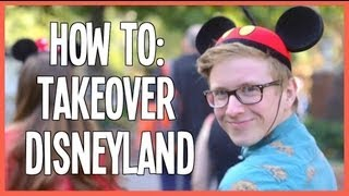 Tyler Oakley Takes Disneyland