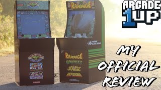 Arcade 1Up Rampage and Street Fighter II Cabinet Reviews!