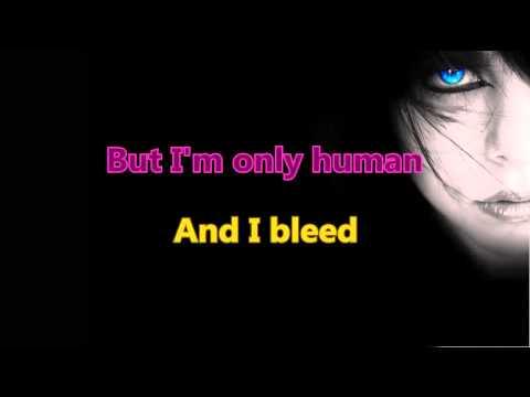 Christina Perri - Human (Karaoke/Instrumental) with Backing voices