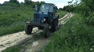МТЗ - 80 который может. Тест-драйв Белоруса.