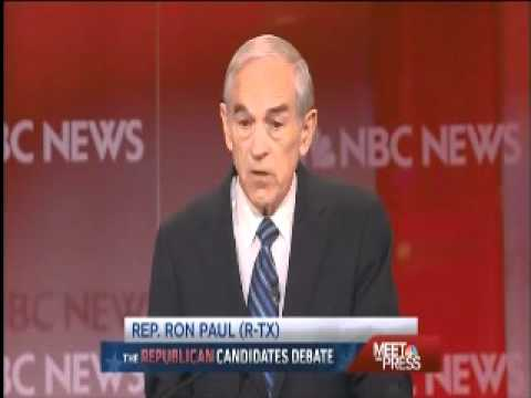 ron paul and meet the press