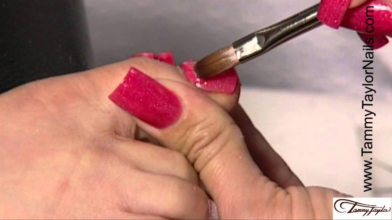 ♡ Tammy Taylor - Prizma Acrylic Toenails - YouTube