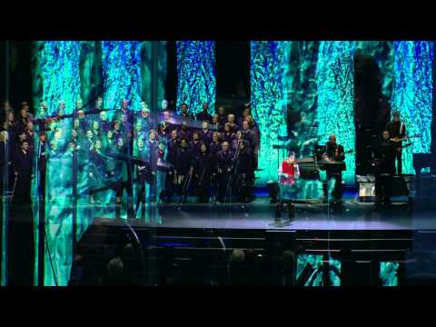 "Christopher Duffley & the WOW Choir singing ""I Can Only Imagine"""