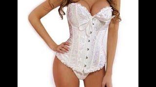 Распаковка посылки # 35  Aliexpress Woman Hot Sexy Corset -White
