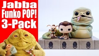 Jabba the Hutt Funko POP! Figure 3 Pack Unboxing & Review