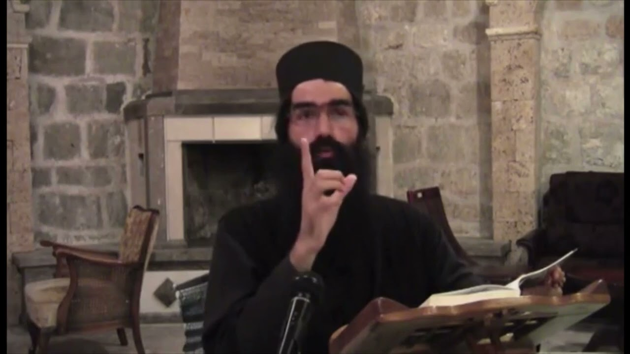 Otac Rafailo - Nemoj da se raspravljaš sa Gospodom