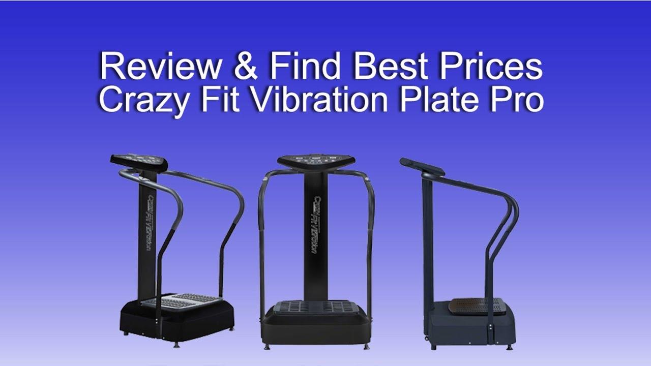 Review & Cheapest Price Crazy Fit Vibration Plate Pro Exercise Platform