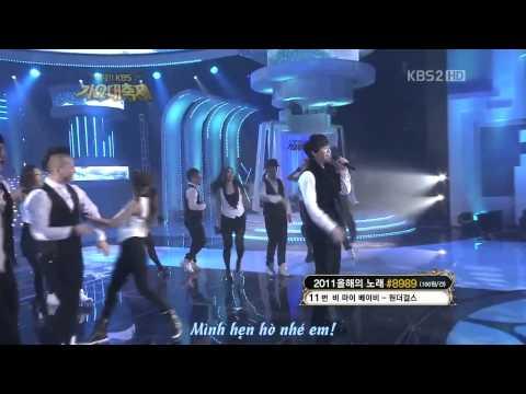 [Vietsub] Lee Seung Gi - Alone In Love @ 111230 KBS Gayo Daejun