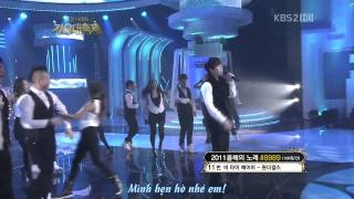 [Vietsub] Lee Seung Gi - Alone In Love @ 111230 KBS Gayo Daejun