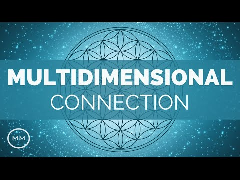 Multi-Dimensional Self Connection - 441 Hz - Binaural Beats - Meditation Music