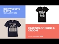 Parents Of Bride & Groom // Best Wedding Shirts Collection