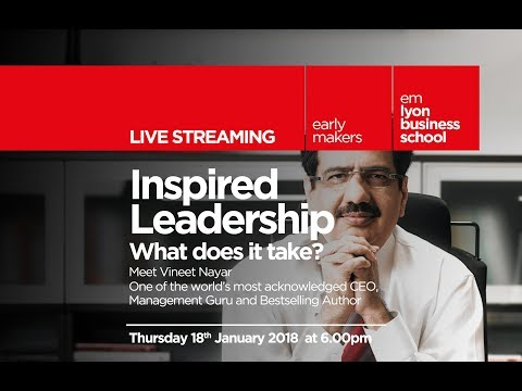 Conference : Inspired Leadership, what does it take ?
