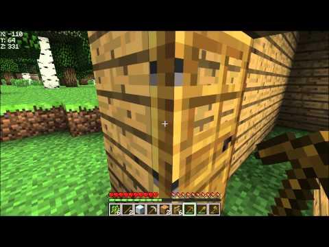 """Minecraft Survival met Mij part-#1 """"Boompjes hakken enzoo..."""""""