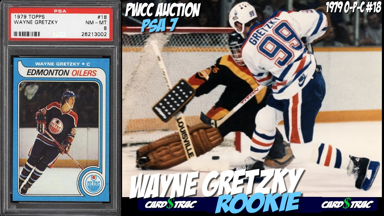 Two 1979 Wayne Gretzky Opc Rookie Cards For Sale Graded Psa 7