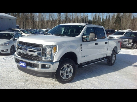 2017 Ford F 250 Xlt Super Duty Crew Cab Stroke Sel Start Up Full Tour And Review