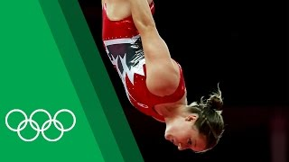 Rosie MacLennan relives the London 2012 Trampoline final