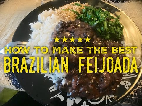 How to Make the Best Brazilian Feijoada Recipe Shot on Location in Rio De Janeiro!