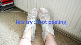 Lets try .... Kocostar Foot Peel | La Ames
