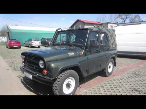New UAZ 469B with russian 2,2 turbo diesel engine
