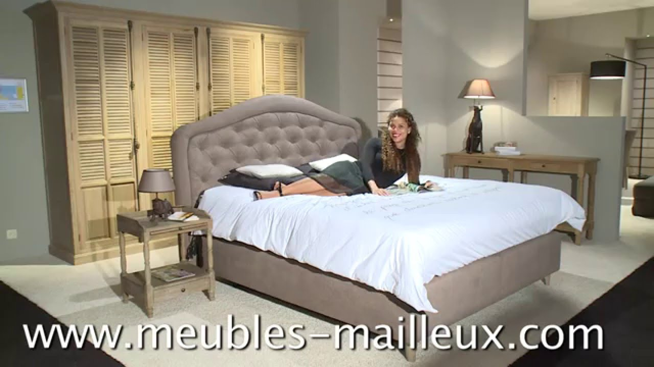 Meubles Mailleux  Chambre  coucher  20152016  YouTube