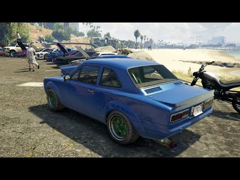 GTA V Online (XB1) | Street Car Meet Pt.12 - N/A Vapid Retinue, Cruise, Drag Racing & More