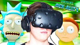 Я КЛОН МОРТИ?! ПЫТАЕМСЯ ПОНЯТЬ ЧТО ДЕЛАТЬ! (HTC Vive) Rick and Morty VR #1