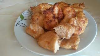 Очень вкусное куриное филе.Невероятно вкусные кусочки куриного филе!