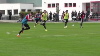 Mario Götze - feel for the ball and dribbling skills FC Bayern Munich - Pep Guardiola Ribery