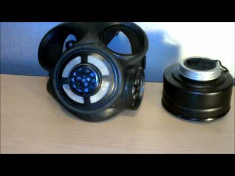 Canadian C3 Surplus Gas mask review