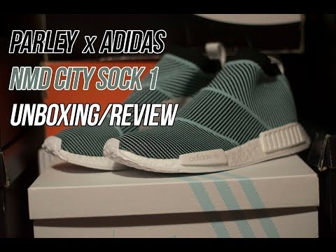 Parley for the Oceans x adidas NMD CS1: Sneaker Unboxing and Review