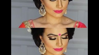 Indian/Bollywood/South Asian Bridal Makeup - Start to finish @blueroseartisrty