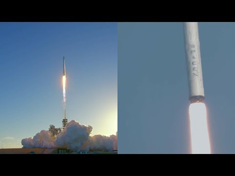 SpaceX Falcon 9 launches Intelsat 35e, 5 July 2017