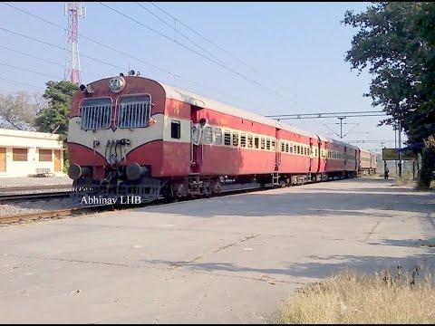 PART 1: Indian Railways 700hp Cummins VTA 1710 powered DEMU Ride