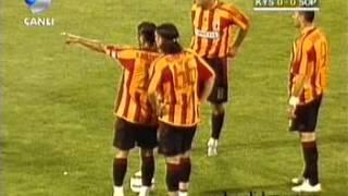 Kayserispor - FC Sopron Intertoto Rövanş 1. Devre