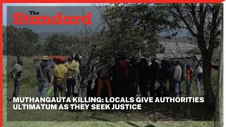 Mathangauta Killing: Family, youths call for arrest of suspect who killed peer at circumcision fete
