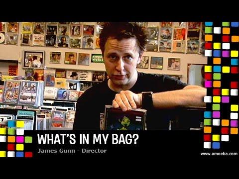 James Gunn  What's In My Bag?