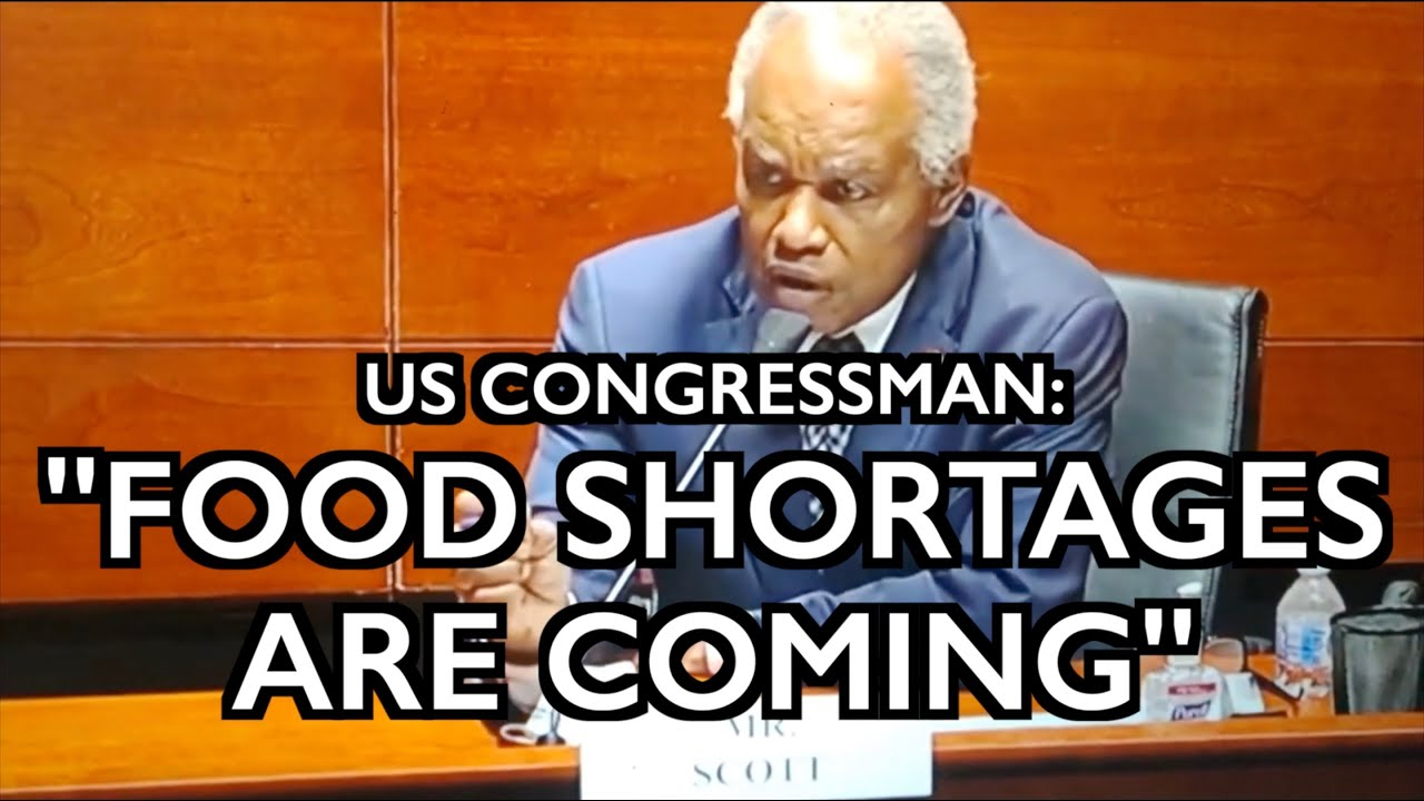 """US Rep: """"Food Shortages Are Coming"""" - Crops Destroyed - UK Limits Purchases"""