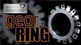 CNC Machine a MARS Curiosity Rover Gear Ring | WW213