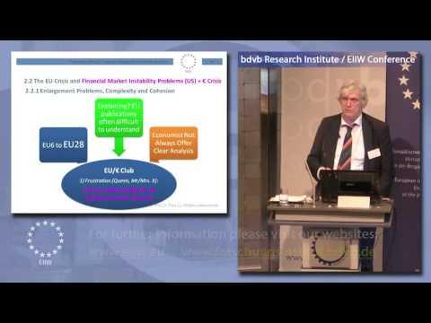 "bdvb Forschungsinstitut – ""Overcoming the Euro Crisis"" – Towards a Euro Political Union"