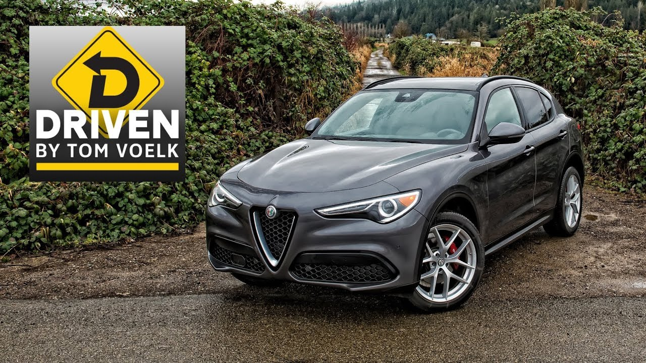 2018 Alfa Romeo Stelvio Ti Sport Car Review Youtube